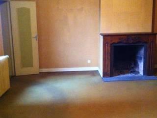 Salon - Avant rénovation:  de style  par Coralie Aubert Décorateur d'intérieur