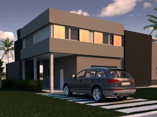 Vivienda L+A Indinaco srl Construcciones y servicios Casas minimalistas