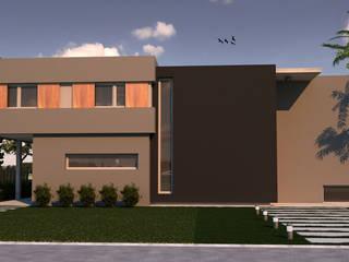 Vivienda L+A Indinaco srl Construcciones y servicios Casas modernas: Ideas, imágenes y decoración