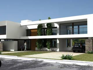 094ROM Casas minimalistas de JAMStudio Minimalista