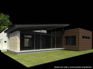 modern  by Diez y Nueve Grados Arquitectos, Modern