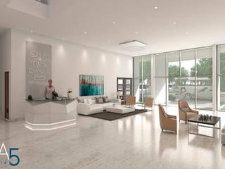 Koridor & Tangga Modern Oleh Area5 arquitectura SAS Modern