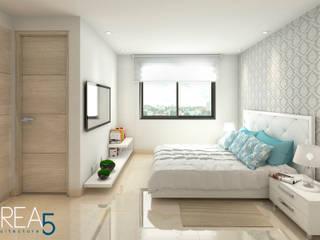 Evora85: Habitaciones de estilo  por Area5 arquitectura SAS, Moderno