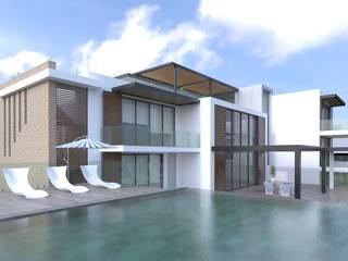 Casas de estilo  por Area5 arquitectura SAS, Moderno