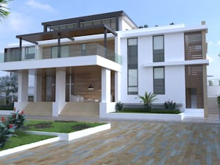 Modern houses by Area5 arquitectura SAS Modern