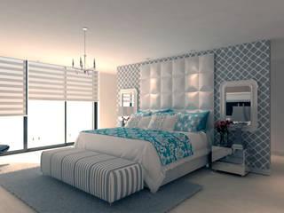 moderne Schlafzimmer von Area5 arquitectura SAS