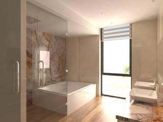 Baños de estilo  por Area5 arquitectura SAS
