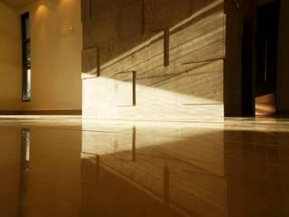 Casa Boca Paredes y pisos de estilo moderno de BCA Taller de Diseño Moderno