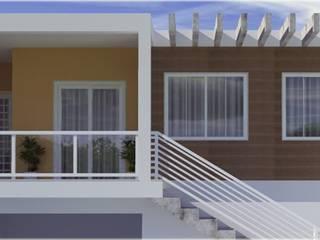 Residência unifamiliar:   por Cris Vieira Arquitetura e Design,