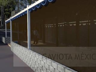 Proyecto Palillerias ZEN  GAVIOTA  para Centro Comercial de Mexico: Centros Comerciales de estilo  por HLA181026V73