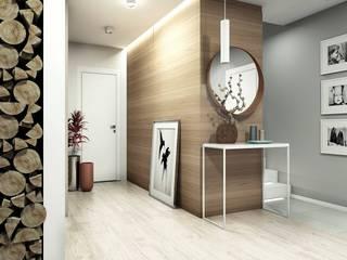 Modern Corridor, Hallway and Staircase by FOORMA Modern