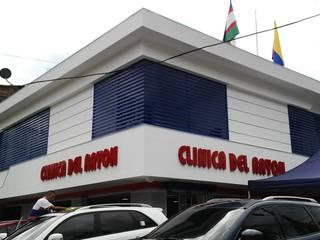 CLINICA DEL RAYON / Local comercial de vehiculos ION arquitectura SAS Espacios comerciales