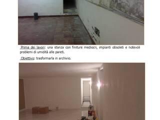 Ristrutturazione di un immobile per archivio e garage_2016 di Studio Angius - Pisano