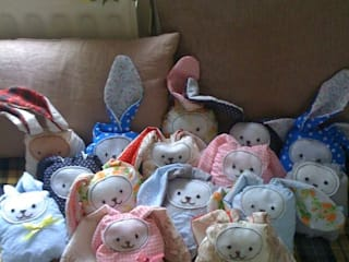 Sleeping Rabbits par Hushaby&Quirks Éclectique
