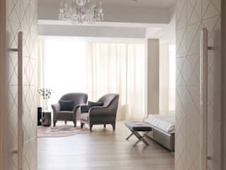 Modern Living Room by Elizarova Design Company Modern