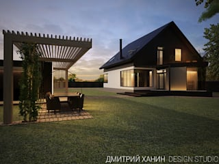 Dmitriy Khanin Minimalist house Wood Brown