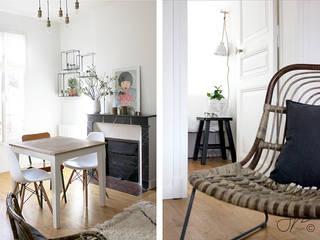Столовая комната в стиле модерн от Gwladys PARRA Модерн
