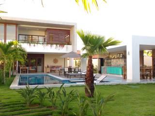 Piletas de jardín de estilo  por Tânia Póvoa Arquitetura e Decoração