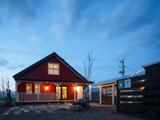 scandinavian Houses by dwarf