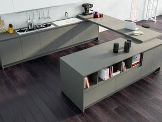 Avantgarde - Atra Atra Cucine Cucina moderna Legno composito Grigio