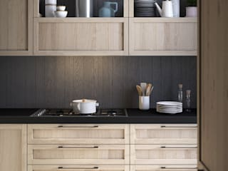 Mia, la cucina Dibiesse dal sapore autentico: Cucina in stile  di Dibiesse SpA