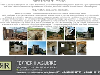 by FERRER||AGUIRRE ARQUITECTURA+DISEÑO+MUEBLES