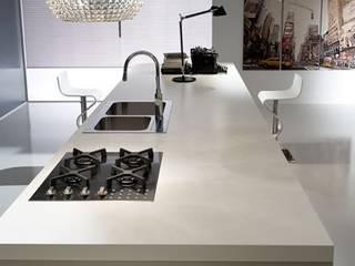 Day -Atra Atra Cucine Cucina moderna Legno composito Beige