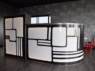 Agencement MétalO Productions Salle à mangerBars & buffets
