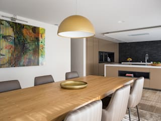 CASA MARQUES INTERIORES Modern kitchen Solid Wood Wood effect