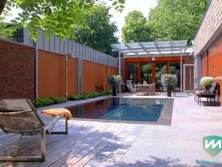 Modern pool by Van Mierlo Tuinen | Exclusieve Tuinontwerpen Modern
