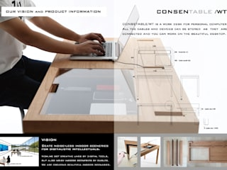 CONSENTABLE Office spaces & stores Gỗ Wood effect