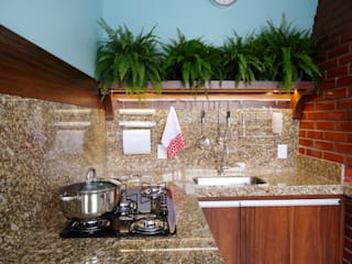 Modern style kitchen by Ponta Cabeça - Arquitetura Criativa Modern