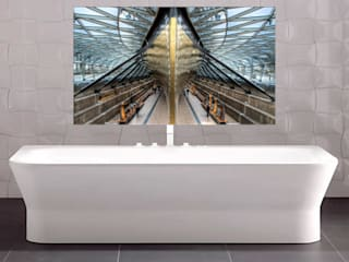 Illuminated artwork for interior designers par Nick Jackson Photography Moderne