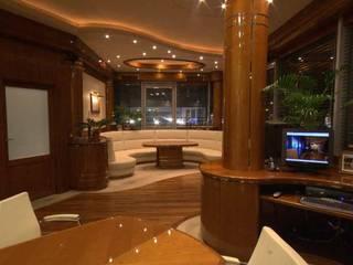 Wnętrze przedstawiecielstwa producenta jachtowego od Arch. Wnętrz Janusz Kościołowski