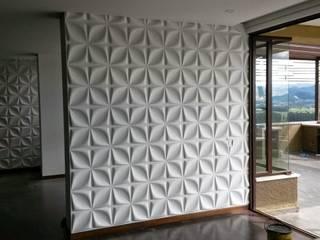 dekora2013 Dinding & Lantai Modern Bambu White