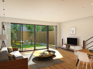 Modern houses by atelier AMEG Modern