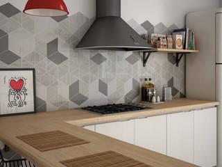 Colección Rhombus Wall:  de estilo  de Nais!