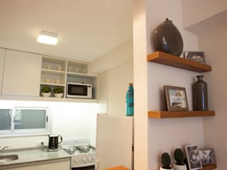 Trabajo para el estudio de Arquitectura LINK Inversiones.: Cocinas de estilo moderno por Sebastian Alcover - Fotografía