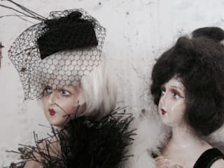 Half Doll Umstyling:   von Shabby Chic & Co. - Isabell Kruse