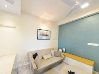 Two BHK -Model apartment - Embassy Builders Chennai: minimalist  by Uncut Design Lab,Minimalist