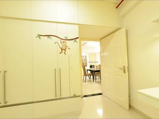 Three BHK - Model Apartment - Embassy Residency - Chennai: modern  by Uncut Design Lab,Modern