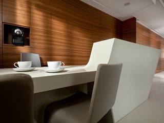 klinika stomatologiczna: styl , w kategorii Kliniki zaprojektowany przez Pszczołowscy projektowanie wnętrz