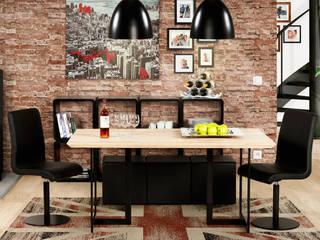 Décoration de salle à manger style industriel:  de style  par Alterego Design