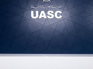 wnętrze biura UASC: styl , w kategorii Biurowce zaprojektowany przez Pszczołowscy projektowanie wnętrz