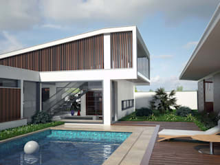 Casa Boituva I Casas modernas por PROJETARQ Moderno