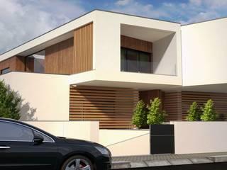 Moradias Geminadas Casas modernas por PROJETARQ Moderno