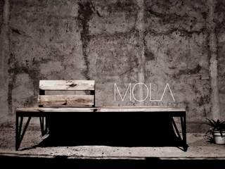 Banco de plaza de MOLA Moderno