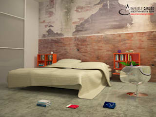 Modern style bedroom by architetto raffaele caruso Modern