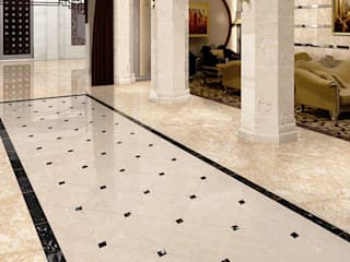 Exotic Marble Featuring Around China ShellShock Designs Hôtels asiatiques Marbre Multicolore