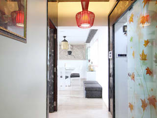 Passage:  Corridor & hallway by home makers interior designers & decorators pvt. ltd.